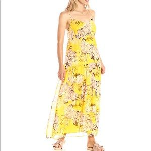 Paris Sunday Spaghetti Strap Maxi dress. NWT